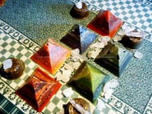 Orgoniti Piramide 12 cm