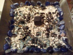 Creazione orgonite piramide 12 cm