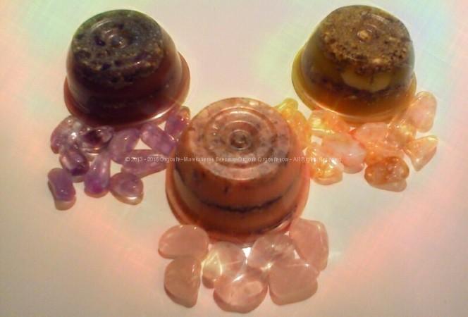 Orgonite Naturale – Kit Cristalloterapia Reiki
