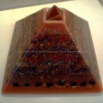 orgone pyramid beewax