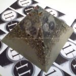 beeswax orgonite pyramid for lottery of webradio 11:11