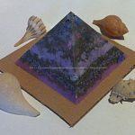 Orgone Vegan Pyramid Quartz Tourmaline 004