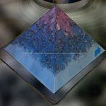 Orgone Vegan - Pyramid quartz shungit 004