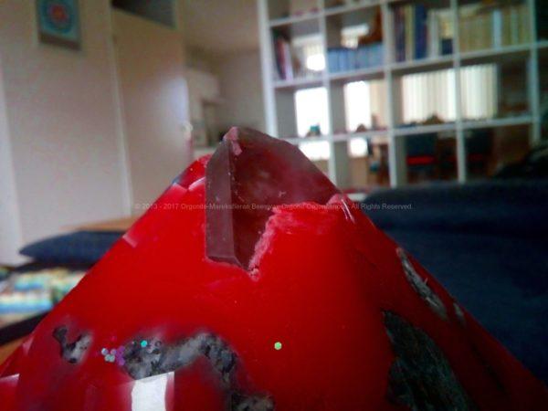 Enjoy The Silence 24 cm pyramid orgonite