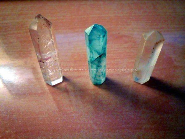 Healing Crystals - Gizah Pyramids Orgonite Set