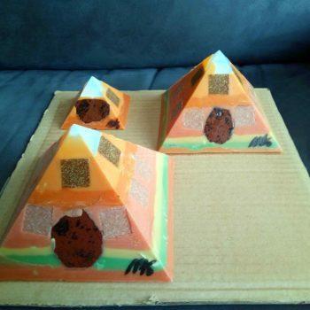 Atitlan - Gizah pyramids orgonite set