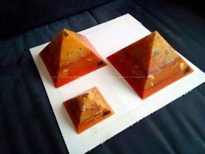 Tulum - Gizah pyramids orgonite set
