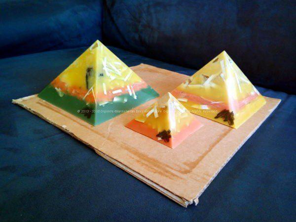 Ejutla Gizah pyramids orgonite set
