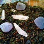 Laser quartz and mineral disks
