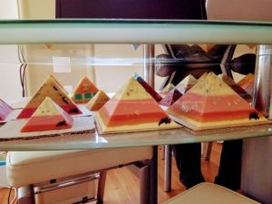 Quartz Cave - Giza pyramids orgonite sets beeswax