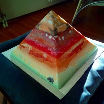 Burn satan Burn pyramid orgonite